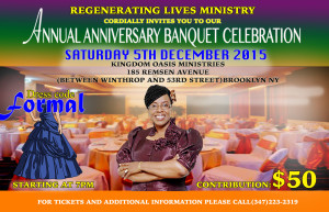RLM ANNUAL ANNIVERSARY BANQUET CELEBRATION